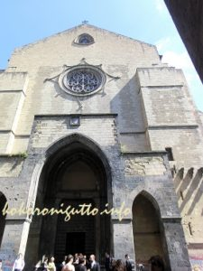 ナポリサンタキアラ教会