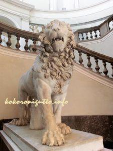 国立考古学博物館ライオン