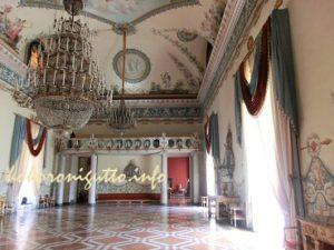国立カポディモンテ美術館舞踏室