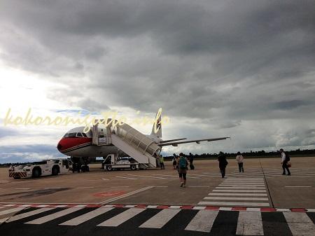 カンボジアから飛行機が飛ばなくて帰国できなかったはなし。