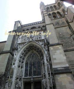 ジュネーブからローザンヌ ノートルダム大聖堂1