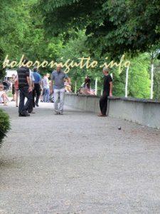 ベルン バラ園2