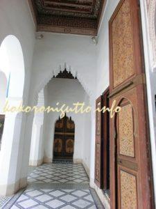 マラケシュ バヒア宮殿3