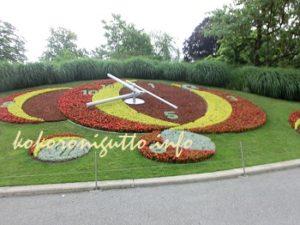 ジュネーブ 花時計