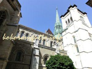 ジュネーブ サンピエール大聖堂1