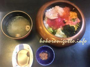 三崎館まぐろきっぷ丼4