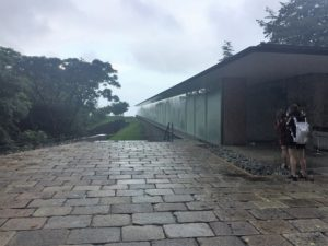 江之浦測候所 雨 ブログ 夏至光遥拝1